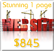 Our websites start from just $845